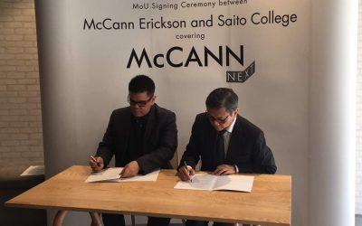 McCann Erickson Malaysia signs MoU with Saito